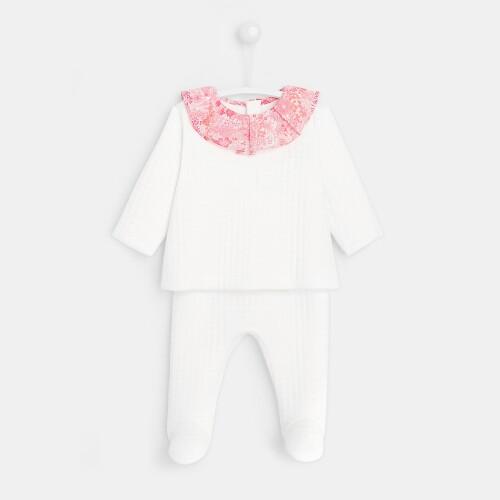 Baby girl fleece pants set
