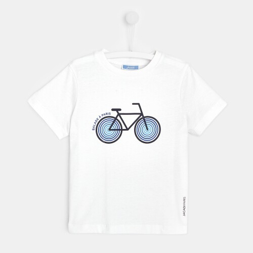 Boy t-shirt with bicycle