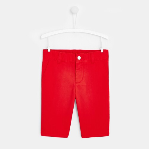 Boy slack fit Bermuda shorts