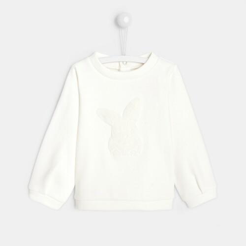 Toddler girl little rabbit sweatshirt