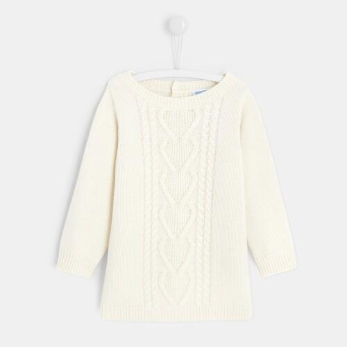 Toddler girl knit dress