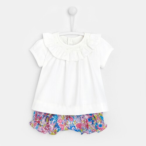 Baby girl set with diaper cover