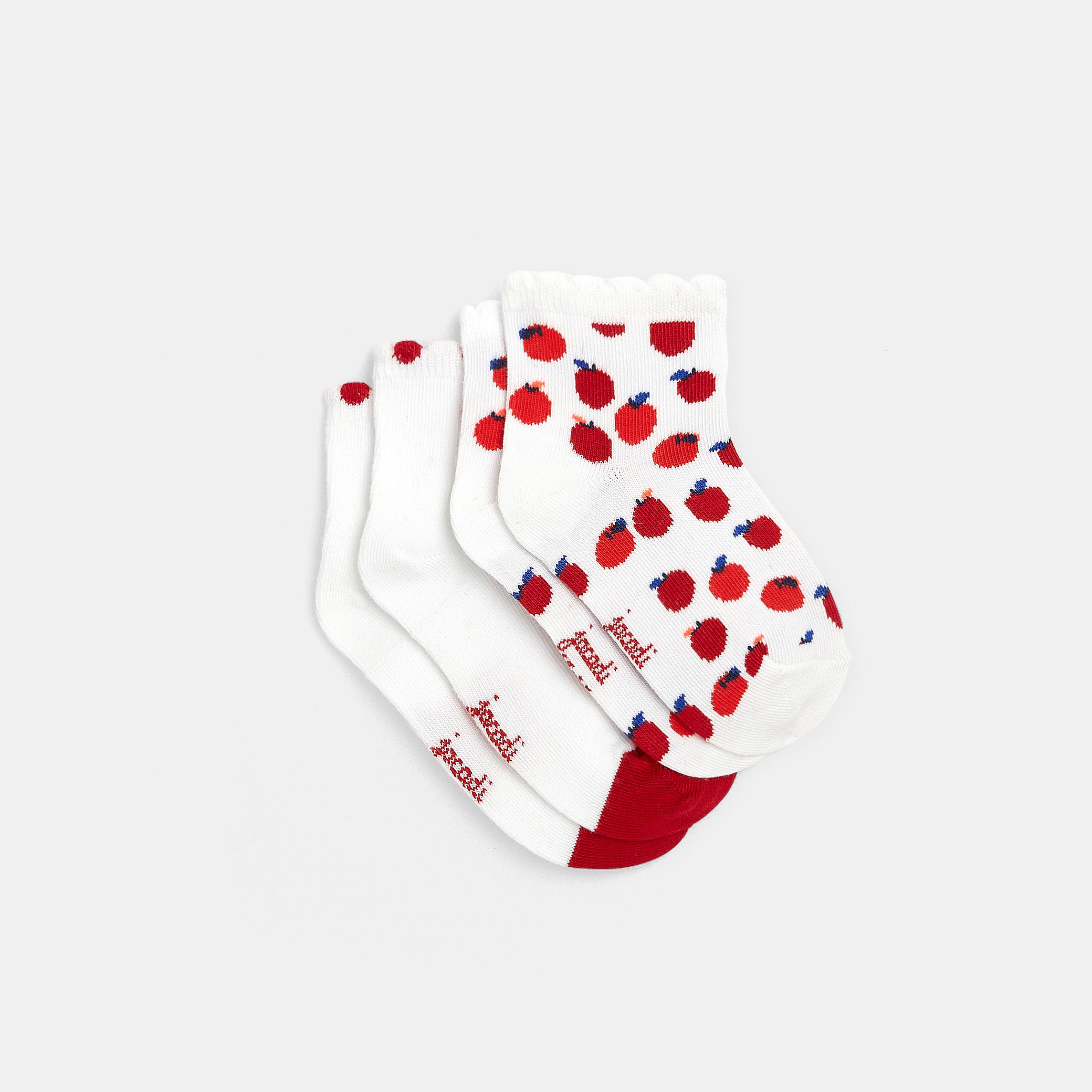 Pair of Maison Broussaud socks