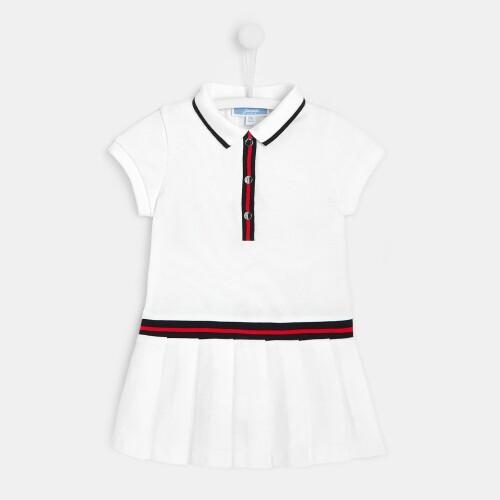 Toddler girl pleated dress