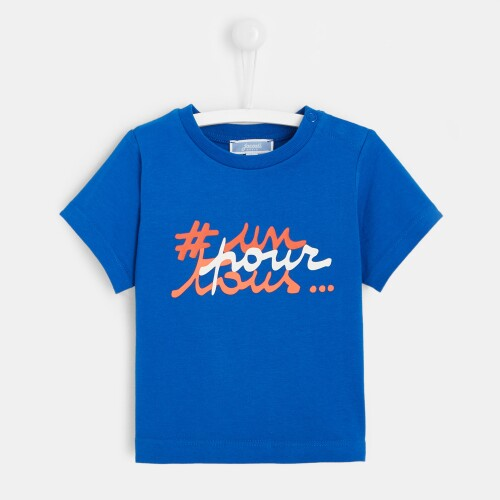 Toddler boy slogan T-shirt