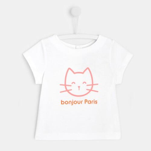 Toddler girl slogan T-shirt