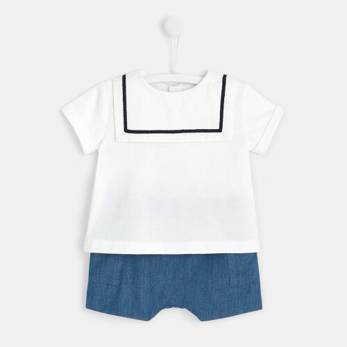 Baby set with shorts