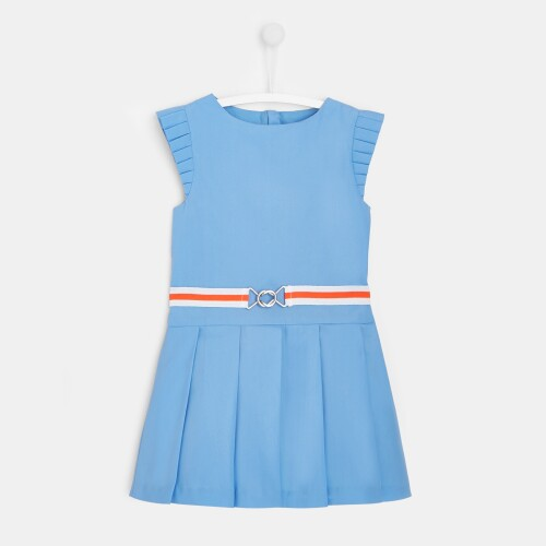 Girl pleated dress