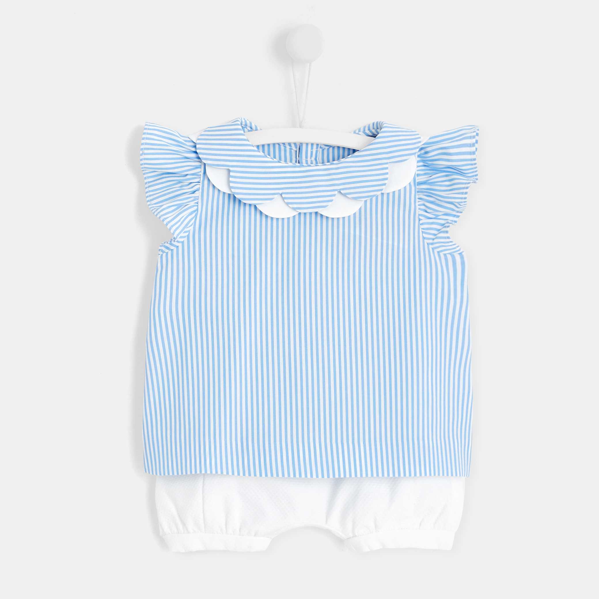 Baby girl set with shorts