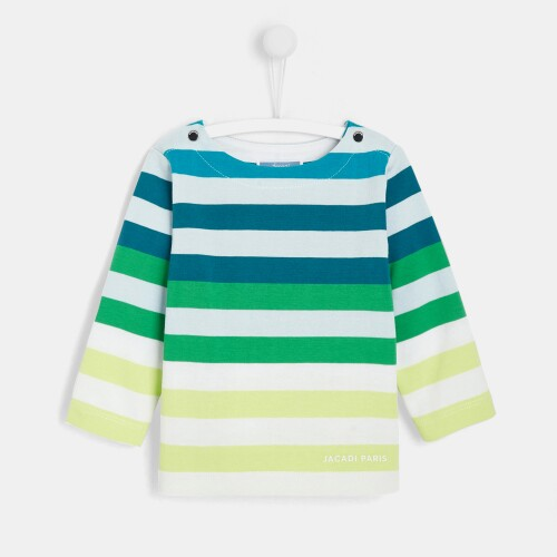Toddler boy striped T-shirt