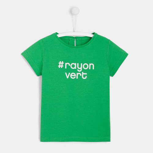 Girl slogan t-shirt