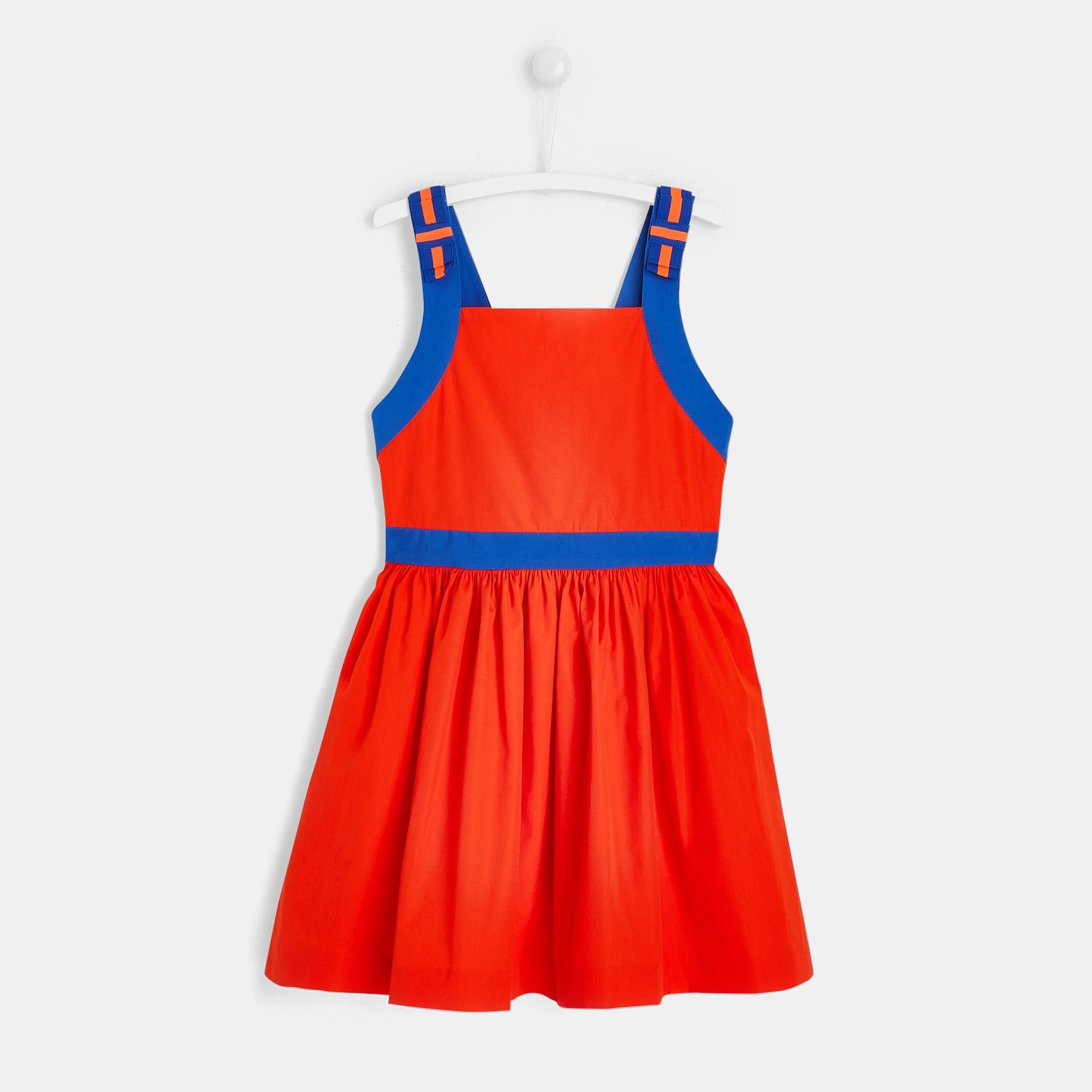 Girl open-back dress