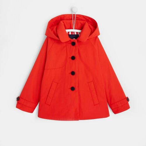 Girl waterproof coat