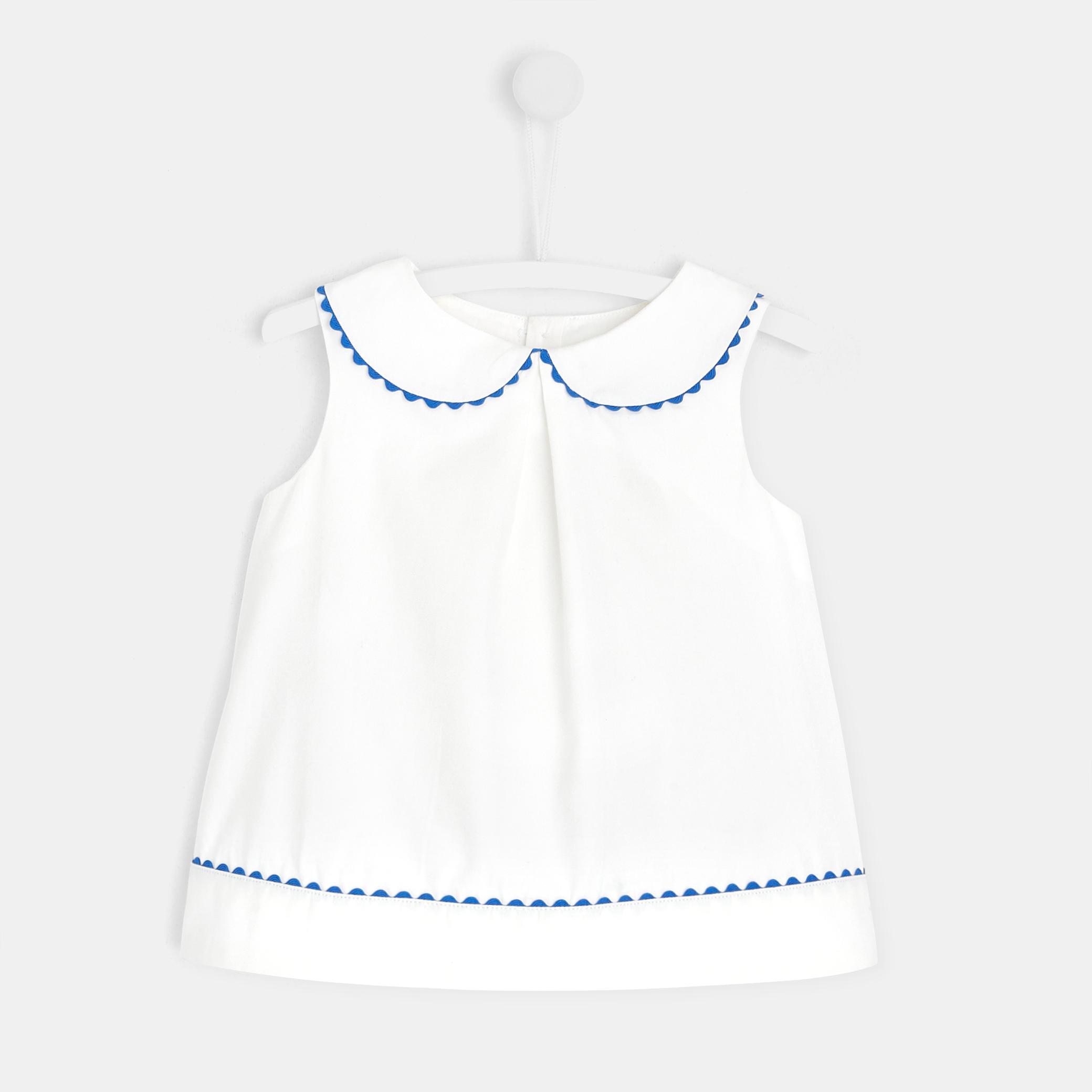 Toddler girl sleeveless blouse