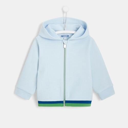 Toddler boy zippered sweatshirt
