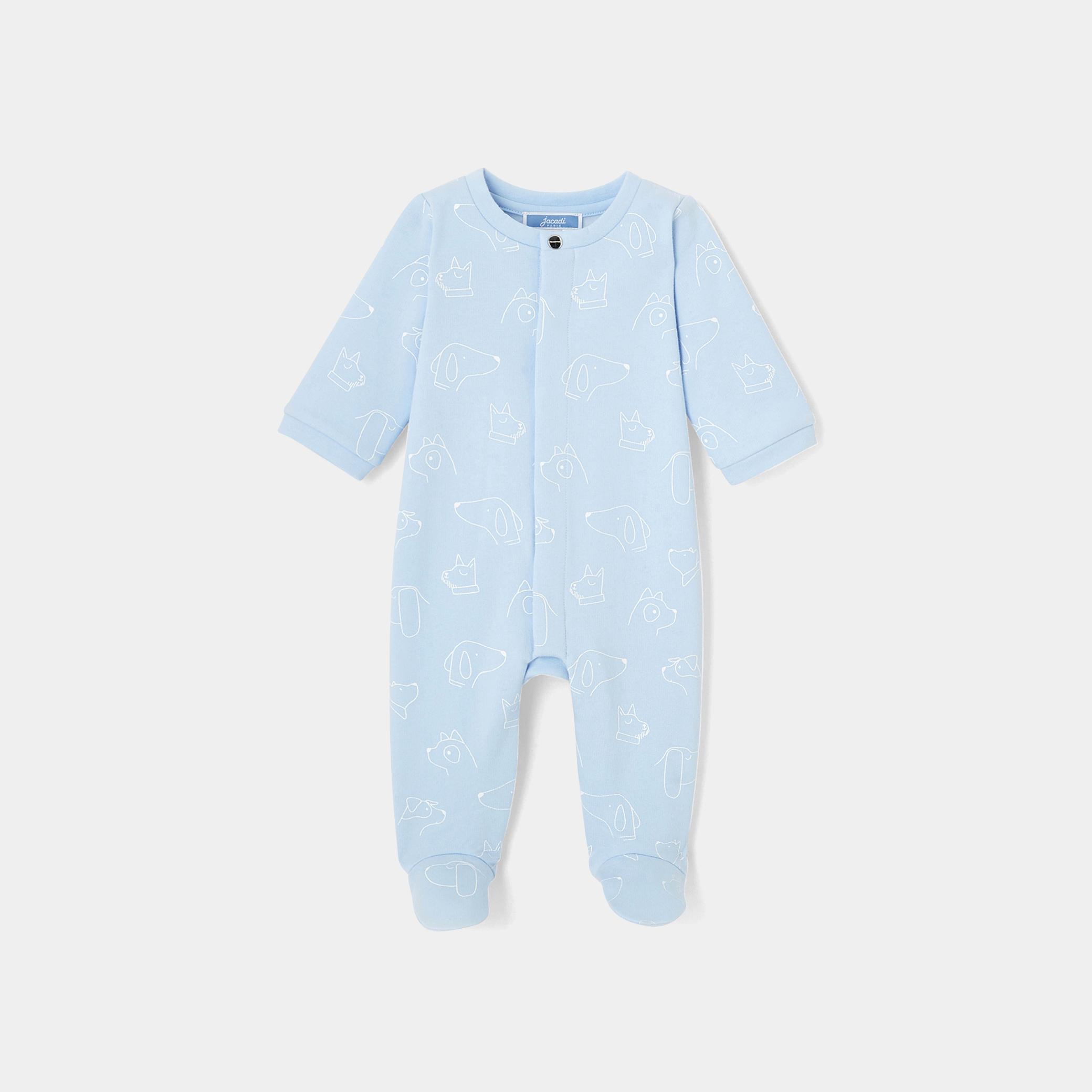 Baby boy fleece footed pajamas